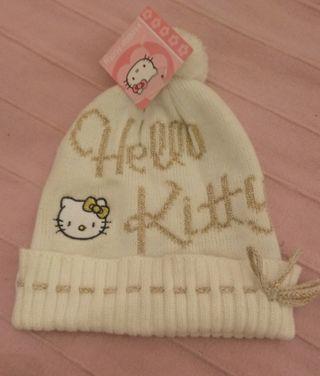 Gorro lana Hello Kitty