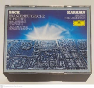 Bach - Karajan (Brandenburg Concertos) Doble CD