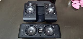 JBL 2 altavoces + 1 central