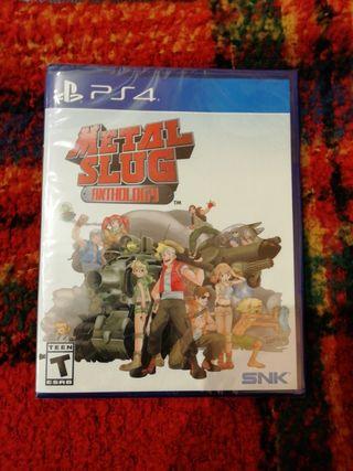 Metal Slug Anthology PS4 Limited Run