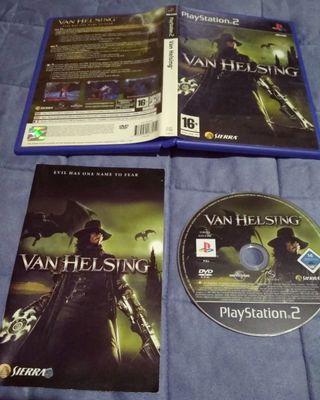 juego PlayStation2 van helsing