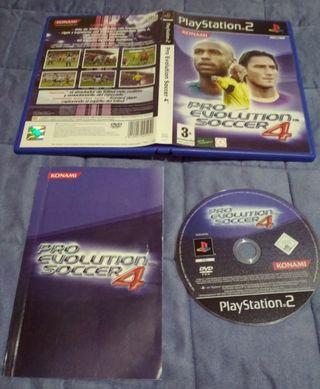 juego PlayStation2 soccer4