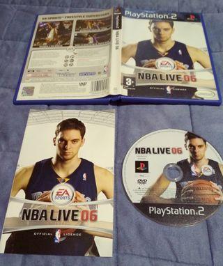 juego PlayStation2 nba06