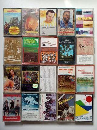 Cintas música Suramérica