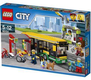 LEGO CITY - Estación de Autobuses 60154