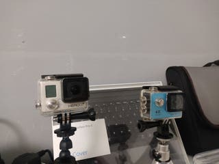 GoPro Hero 3+ y Eken H9