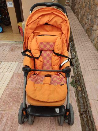 Carrito de niño o bebe paseo, plegable