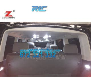 KIT COMPLETO DE 17 BOMBILLAS LED INTERIOR VOLKSWAG