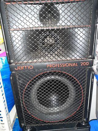 2 altavoces profesionales JAMO