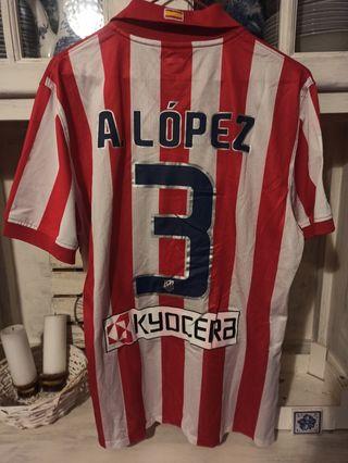 Match worn Antonio Lopez