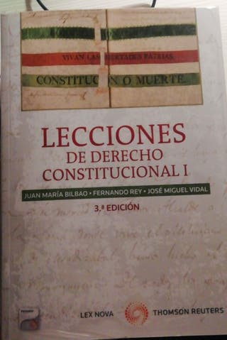 Lecciones de Derecho Constitucional I. 3ª Edición