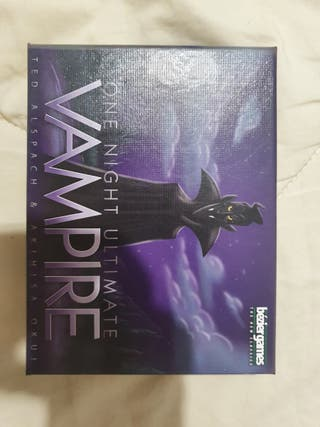 Juego de mesa one night ultimate vampire