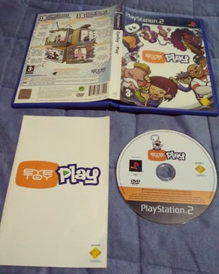 juego PlayStation2 eyetoy play