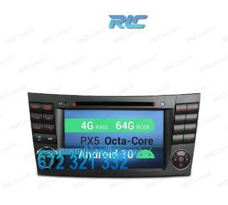 RADIO GPS ANDROID 10 MERCEDES CLS W219 (05-06) E W