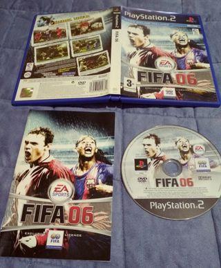 juego PlayStation2 fifa06