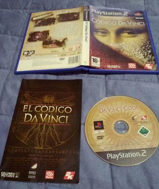 juego PlayStation2 código da vinci