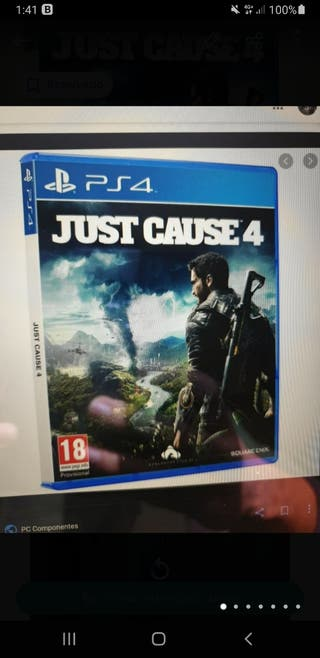 JUST CAUSE 4 PS4 Y PS5 COMPLETAMENTE PRECINTADO!!!