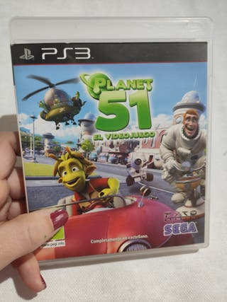 VIDEOJUEGO PLANET 51 PS3