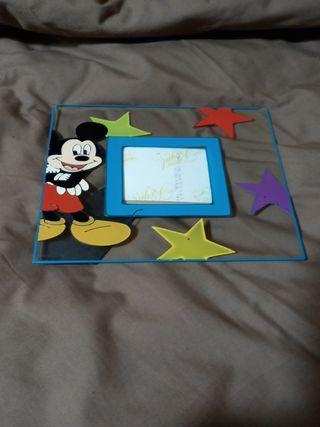 marco de fotos infantil, mickey