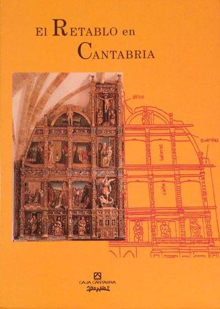 Libro Retablos en Cantabria.
