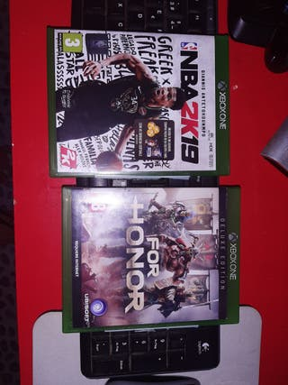 nba 2k19+for honor deluxe idition Xbox One