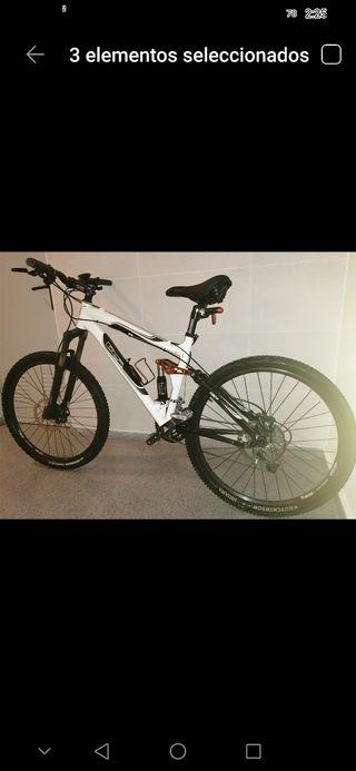 Bicicleta Montaña BTT DS talla M
