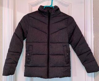 Abrigo gris talla 8