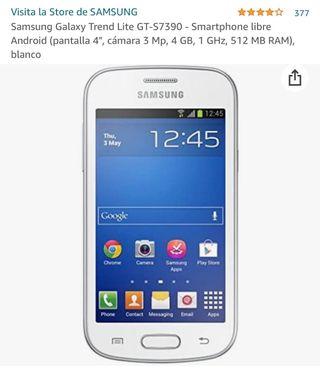 Smartphone Samsung Galaxy GT7390 Blanco