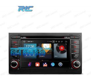 RADIO GPS ANDROID 10 AUDI A4 B6 B7 (00-08) / SEAT