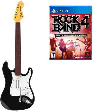 CHOLLO!!! ROCK BAND 4 PARA PS4 CON GUITARRA