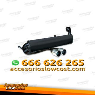 SI000193 - SILENCIOSO / ESCAPE PARA SMART FORTWO 04/2007-