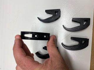 Pieza 3D gancho para bolsas M365