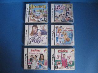 Juegos para Nintendo DS.