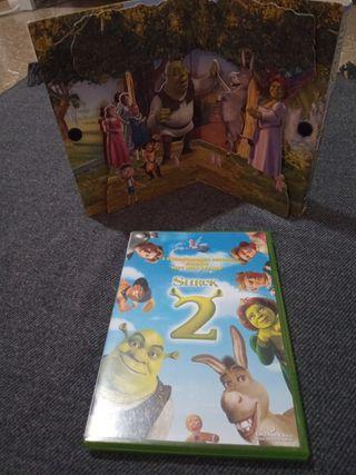 DVD SHREK 2 CON SU CAJA