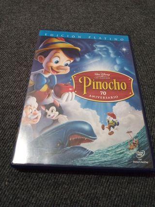 DOBLE DVD DE PINOCHO. EDICIÓN PLATINO