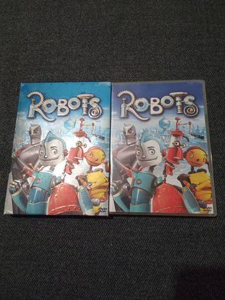 DVD ROBOTS EN SU CAJA ORIGINAL