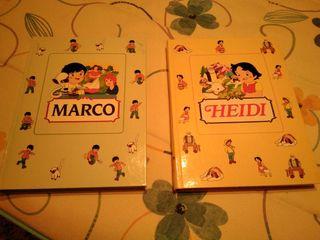 libros Heidi y Marco