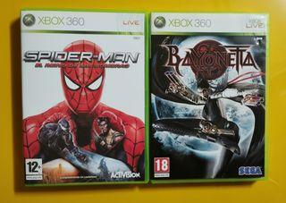 Pack 2 juegos XBOX 360