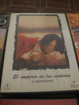 Película DVD El Imperio de los Sentidos