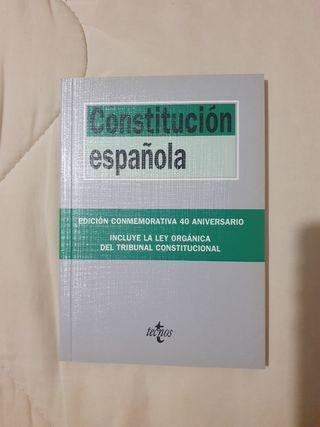 Constitución Española edición 2018