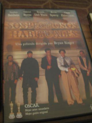 Película DVD Sospechosos habituales