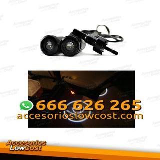AL004057 - KIT DE DOS PROYECTORES LED LOGO MERCEDES PARA PUERTAS DEL COCHE.