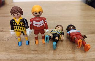 Jugadores futbol playmobil