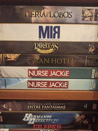 Pack Series en dvd