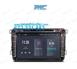 RADIO GPS ANDROID 10 VOLKSWAGEN, SKODA, SEAT