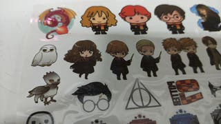 Lote de tatuajes calcamonias de Harry Potter