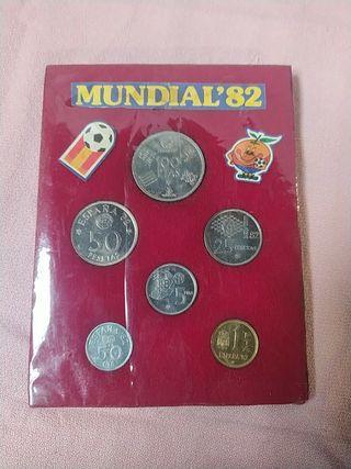 MUNDIAL 82 MONEDAS
