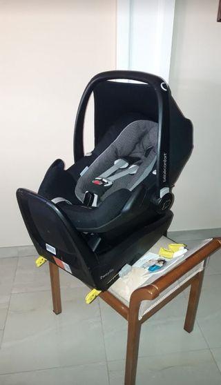 MaxiCosi silla coche PEBBLE PLUS+Base2WayFix