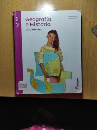 Libro geografía e historia 2°Eso