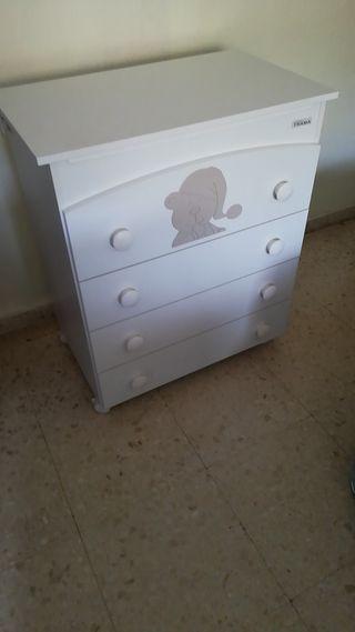 Mueble cambiador bañera bebe micasa